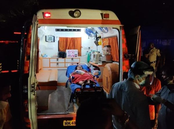 विरार के विजय वल्ल्भ अस्पताल में आग – १३ कोरोना संक्रमितों की जल कर मौत